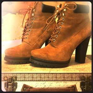 BCBG Timberland inspired boots